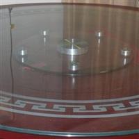 鋼化3-12mm酒店餐桌轉盤