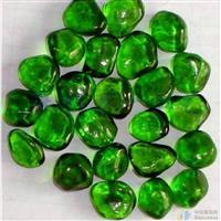 琉璃/玻璃景观石,烧结石--绿色