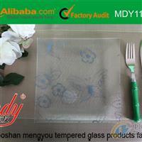 【孟友】钢化玻璃方盘碟