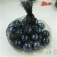 16mm黑色玻璃球