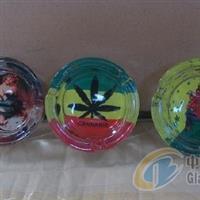 供应圆形8寸玻璃烟灰缸,玻璃杯,礼品杯