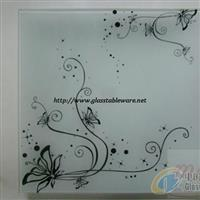 供应钢化玻璃方盘/钢化玻璃碟