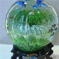 玻璃花园球 夜光球 工艺品