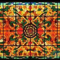 彩色鑲嵌玻璃