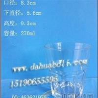 高白料玻璃杯/玻璃杯价格/出口玻璃酒杯