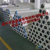 供应强化玻璃移门专用PVC灰白布 喷绘布 写真布