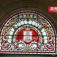 古建筑教堂玻璃彩繪玻璃修復