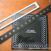 供应LED灯具丝印玻璃