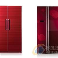 冰箱钢化面板、冰箱彩晶玻璃面板