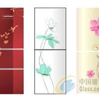 冰箱玻璃面板、冰箱彩晶玻璃面板