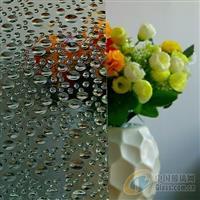 广州压花玻璃-水珠