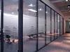 现代办公装修首先的装饰品――成品玻璃隔断