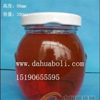 200ml耳朵罐頭玻璃瓶,徐州食品玻璃瓶生產商