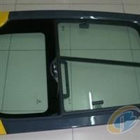 東明生產工程機械鋼化玻璃