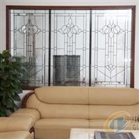 廠家供應實木門鑲嵌玻璃