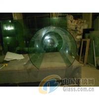 上海地區大彎玻璃 熱彎玻璃