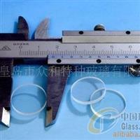 手电筒玻璃防爆手电筒用钢化玻璃