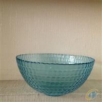 外贸原单 蓝色玻璃碗