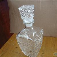 玻璃酒瓶玻璃瓶 钻石酒瓶