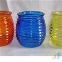 玻璃瓶蠟燭罐蓮花杯