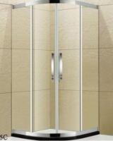 惠州采购-5+5夹胶玻璃扇形淋浴房