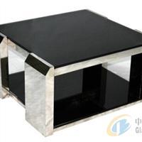鋼化黑玻東莞黑玻加工廠黑色玻璃