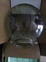 北京采购-螺口球形茶色玻璃灯罩