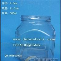 大容量泡菜玻璃瓶成批出售,麻辣酱玻璃瓶