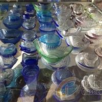 供应工艺彩色玻璃盘 工艺玻璃盘