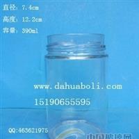 390ml高盖酱菜玻璃瓶,麻辣酱瓶成批出售