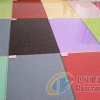 供应5、6、8MM钢化烤漆玻璃