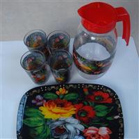 厂家供应玻璃水壶 水杯套装