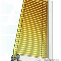 供應內置百葉窗 北京華翔博源玻璃