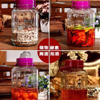 玻璃泡酒罐泡菜罐子储物罐自酿酒玻璃罐