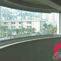 深圳钢化玻璃无框阳台窗折叠
