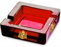 宁波采购-透明方形玻璃烟灰缸