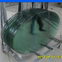 橢圓形鋼化玻璃