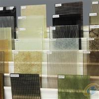 扬州艺术玻璃背景墙测量定制安装