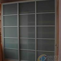 扬州庆亚、定制安装磨砂玻璃移门