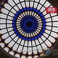 廠家設計制作蒂凡尼穹頂玻璃