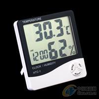 HTC-1液晶办公室温湿度计