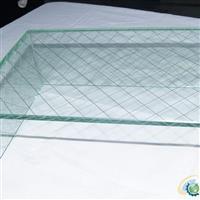 上海10mM鋼化優質夾絲玻璃