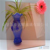 供应10毫米粉色浮法玻璃