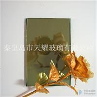 供应8mmF绿镀膜玻璃
