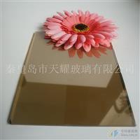 供应5mm欧茶镀膜浮法玻璃