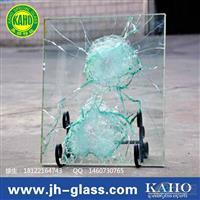 防弹玻璃测试