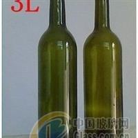 廠家直銷6斤墨淥色紅酒瓶