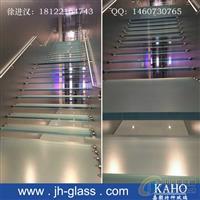 八字条纹地板防滑玻璃