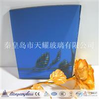 供應深藍色浮法鍍膜玻璃
