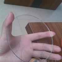 供应超白钢化圆形灯具玻璃 耐热玻璃
